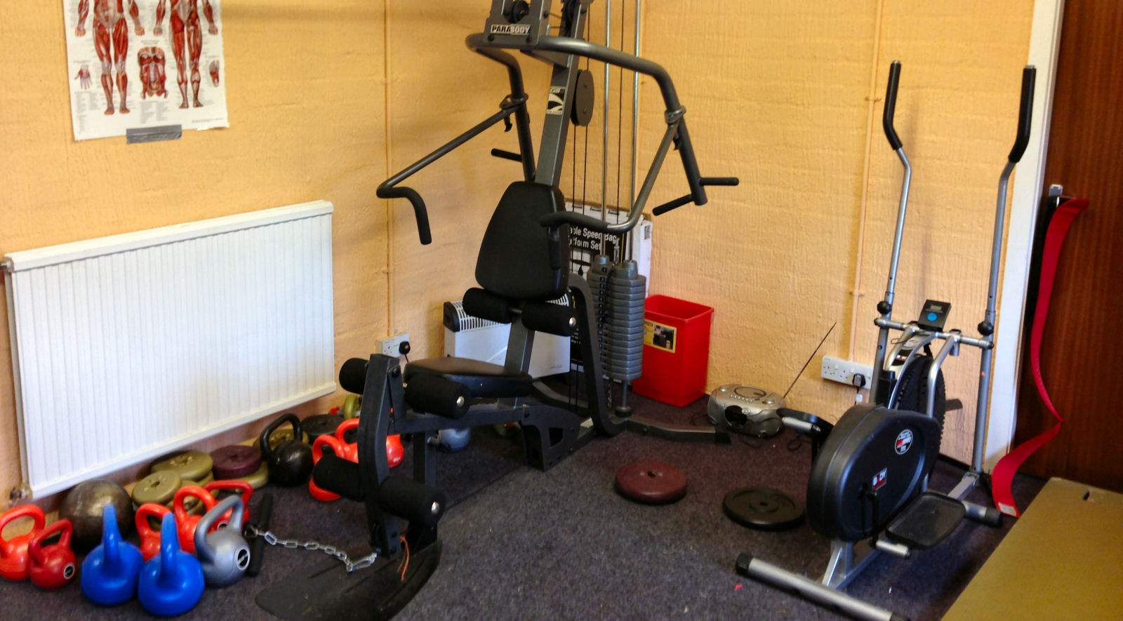 jubilee fitness room hire